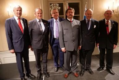 Franz Zölß - Robert Lechner - Dr. Thomas Goppel - Konsul Günther Lazelsberger - SKH Prinz Wolfgang - Wolfgang Ruso
